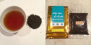 ウバの茶葉と包装