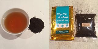 ヌワラエリアの茶葉と包装