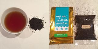 ディンブラの茶葉と包装