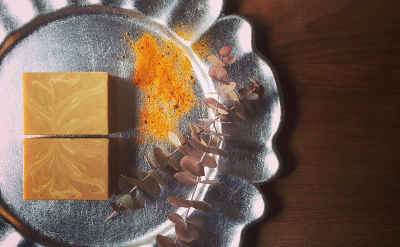 紅茶とオーガニック・ターメリックの石けんワークショップ